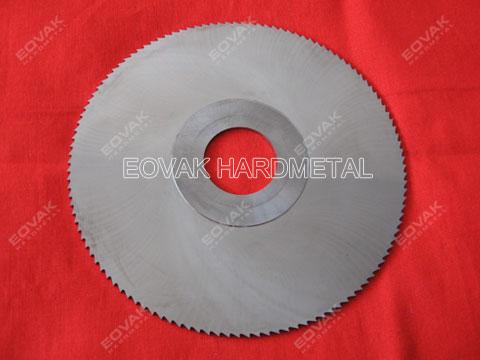Solid carbide circular slitting, slotting saw blades, 125 x 2,0t x 27H - 120 Teeth for metal-working