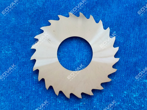 Solid carbide slitting saw blades, tooth form A - uncoated